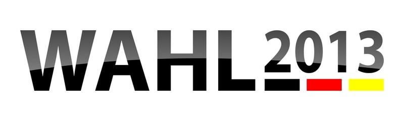 Wahl 2013 Logo