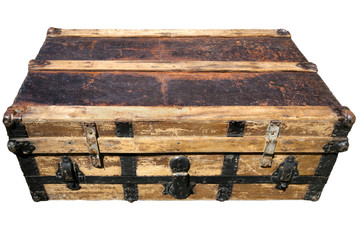 Old Antique Suitcase