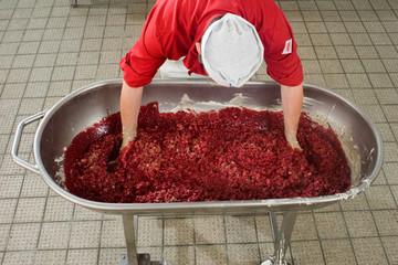 Blutwurst Herstellung