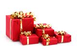 Paquets cadeaux de Noël