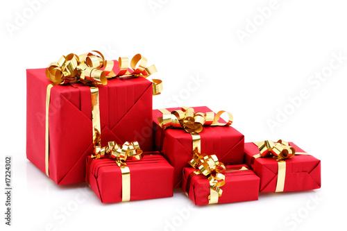 Paquets cadeaux de Noël - 17224302