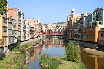 View of Girona in Spain