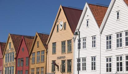 Häuser in Bergen