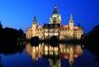 Rathaus Hannover Dämmerung