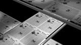 Newspaper press printing, seamless loop, 6 sec. with alpha matte poster