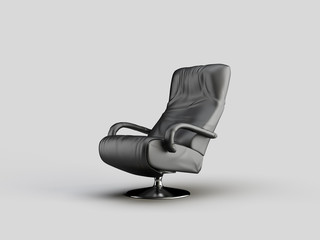 Comfortable Grey Office Chair
