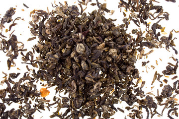 Aromatic green tea with jasmine