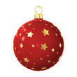 Christmas-tree decoration isolated
