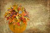 October Bright poster