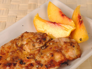Chicken with apricot