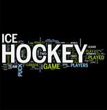 Fototapety Hockey word cloud