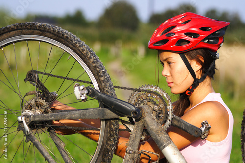 Mountain bike repair