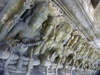 Bas-relief of Chennakeshava Temple, Hoysala architecture