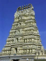 Mysor temple, India