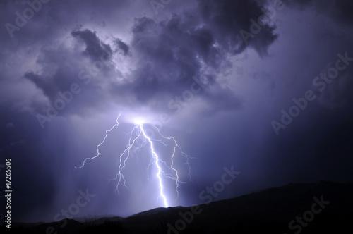 Leinwanddruck Bild Tucson Lighting