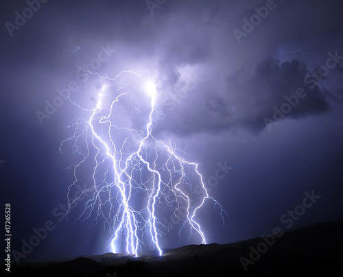 Foto op Plexiglas Onweer Tucson Lightning