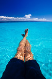 Caribbean Blue water relaxing