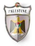 coat of arms palestine wappen palästina button icon poster