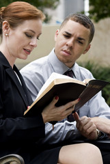Business Bible Reading Park
