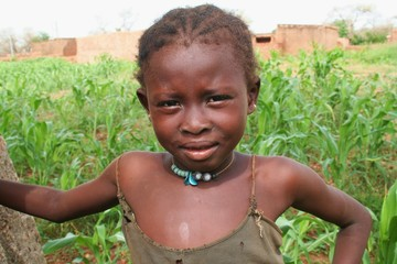 petite fille du Sahel