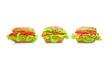 Leckere und frische Sandwichs