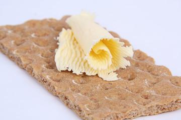 Crispbread with butter