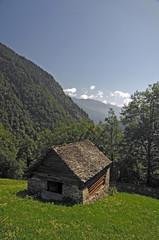 0212 - Hütte im Tessin