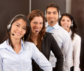 Customer support operators