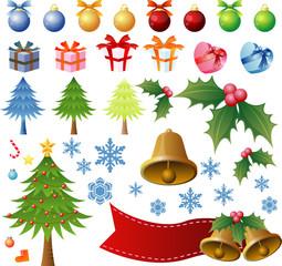 Decoration set of Christmas