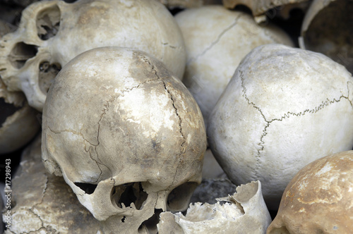 killing fields in Phnom Penh/ Kambodscha