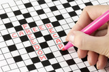 Solving crossword poster