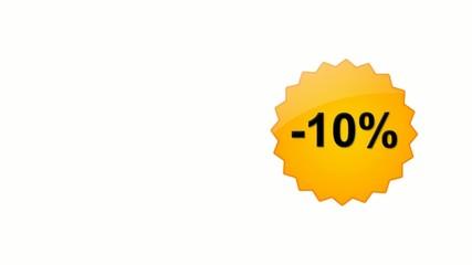 Sconto  -10% -20% -30% -40% -50% -60% -70% -80%