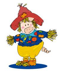 Scarecrow pig