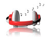 Audio headphone