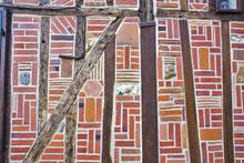 Francia, Oise, Beauvais, vieille ville-: Maison du Moyen-Age