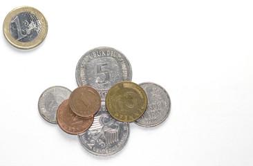 alte Geldmünzen