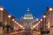 San Pietro, da Via della Conciliazione, Roma
