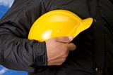 builder closeup poster