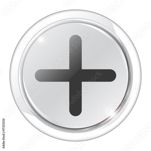 white button add