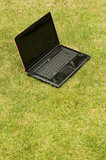 Laptop outside