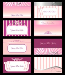 SET TARJETAS PRINCESAS