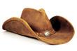 canvas print picture - Cowboy Hat 2