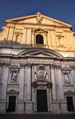 Gesu Jesuit Church Facade Rome Italy