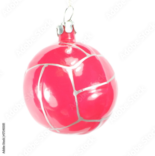 one christmas firtree toy ball