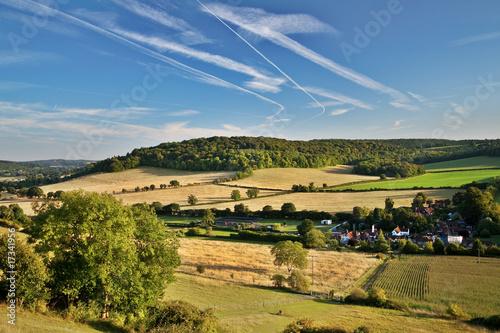 View across oxfordshire