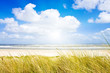 Ein idyllischer Tag im Sommer an der Nordsee
