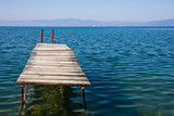 Old Jetty in Lake Ohrid poster