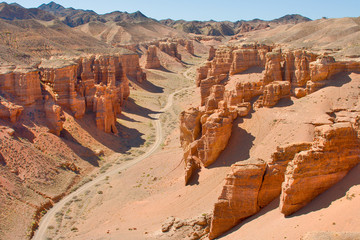 canyon  Charyn, Central Asia, Kazakhstan