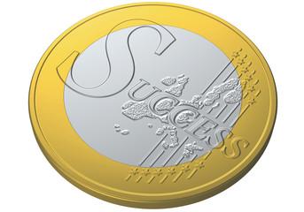 euro coin success