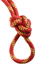 Climbing knot, figure eight